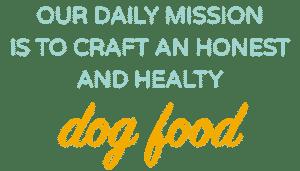 Healthy Dog Food Mission