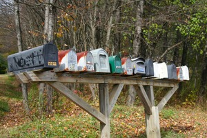 shipping mail boxes